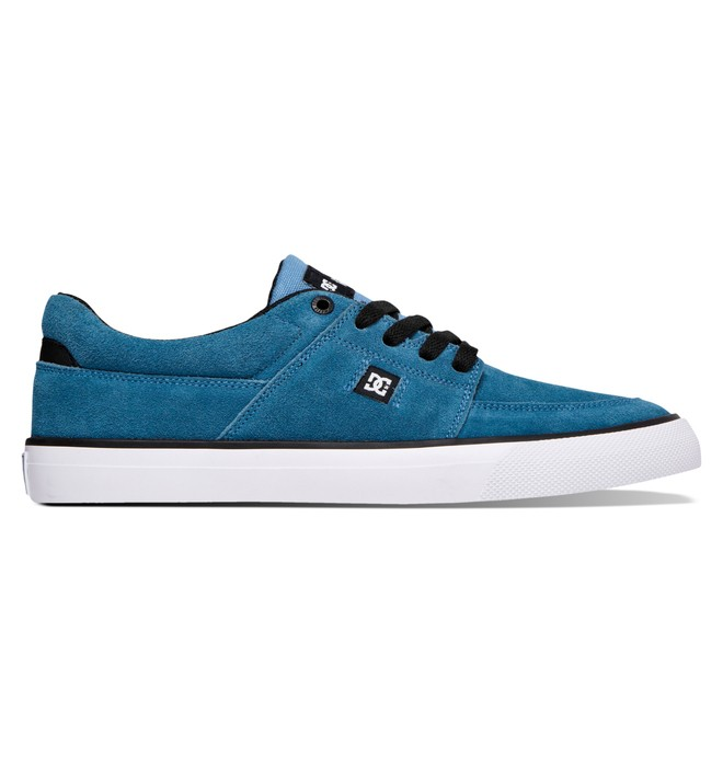 0 Men's Wes Kremer S Low Top Shoes Blue 320425 DC Shoes