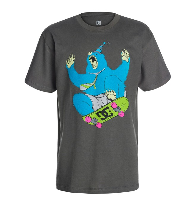 0 Boys Grizzle Tee  50464072 DC Shoes