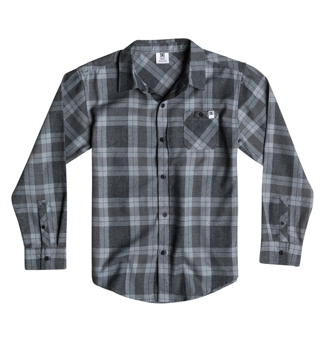 0 Boy's 8-16 Swell Flannel Shirt  50664046 DC Shoes