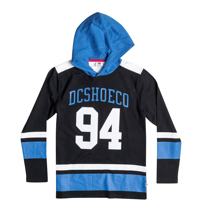 0 Boy's 8-16 Breakaway Long Sleeve Hooded Tee  50664082 DC Shoes