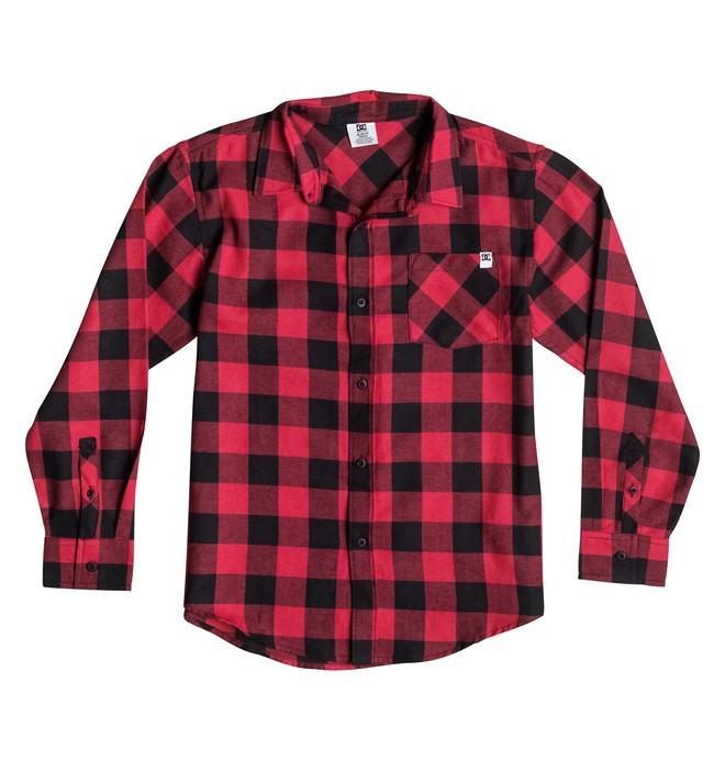 0 Boy's 8-16 Peak Flannel Shirt  50664112 DC Shoes