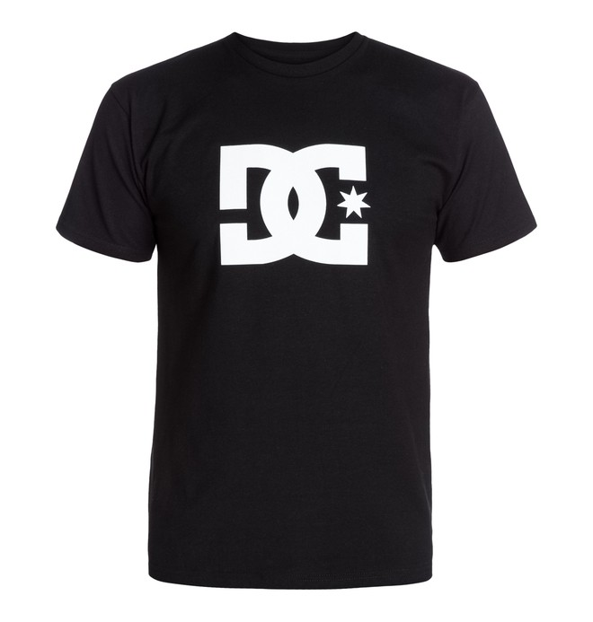 0 Star Tee Black 51200063 DC Shoes