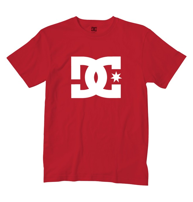0 Star Tee Red 51200063 DC Shoes
