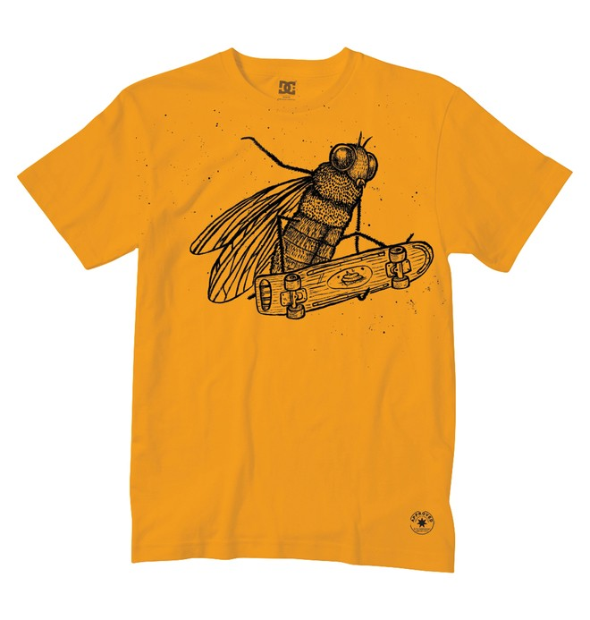 0 Men's Fly Times Tee  51200541 DC Shoes
