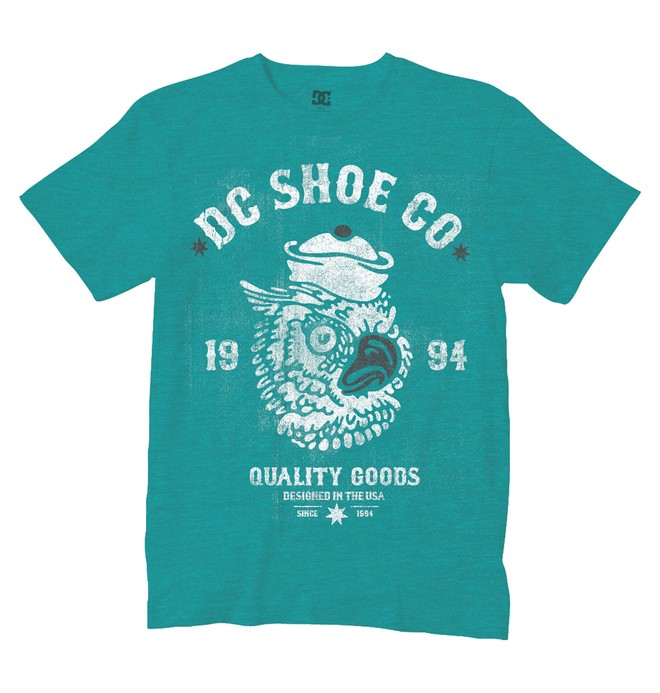 0 Men's Owl Time Tee  51200567 DC Shoes