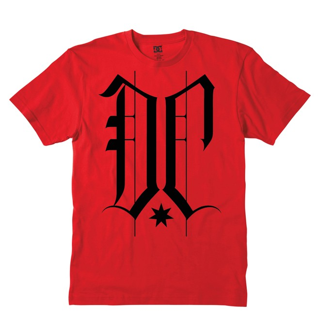 0 Men's Tough Guy Tee  51200607 DC Shoes