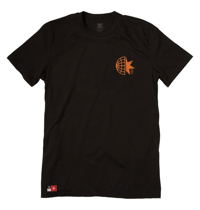 0 Men's Wide World Tee  51200614 DC Shoes