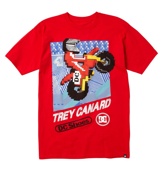 0 Men's Trey Canard Rider Tee  51200624 DC Shoes