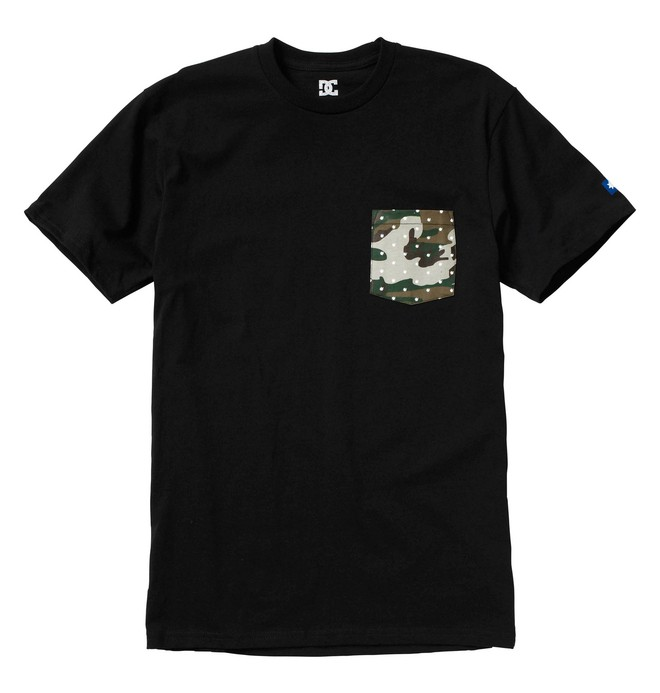 0 Men's NVRBRKN. Dottie Pocket Tee  51200632 DC Shoes
