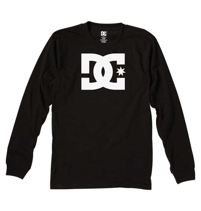 0 Men's Star Long Sleeve Tee  51210003 DC Shoes