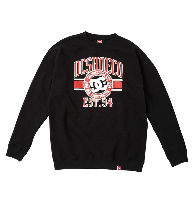 0 Men's Rob Dyrdek League Crewneck Sweatshirt  51250010 DC Shoes