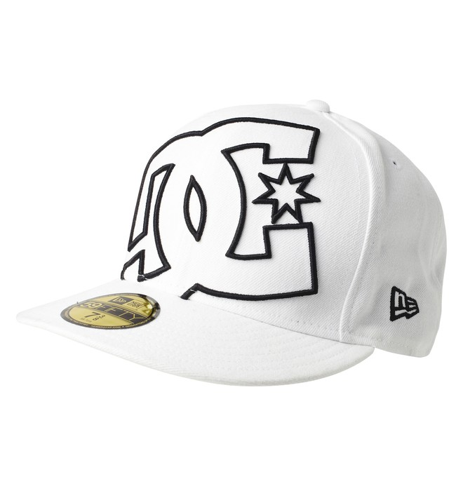 0 Men's Coverage Hat White 51300130 DC Shoes