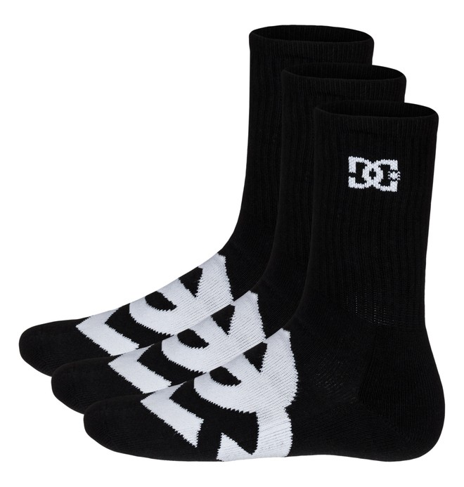 0 Willis Socks Black 51340004 DC Shoes