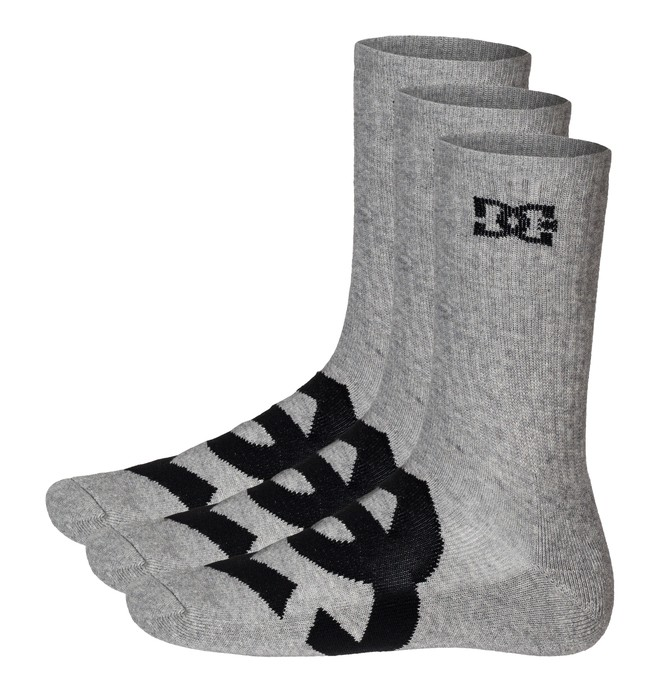 0 Willis Socks Grey 51340004 DC Shoes