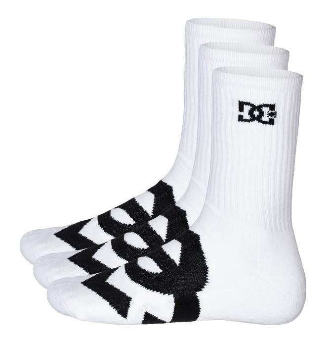 0 Willis Socks White 51340004 DC Shoes