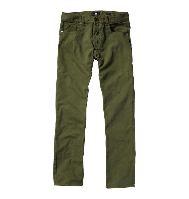0 Men's DC Straight Fit Canvas Pants  51800113 DC Shoes