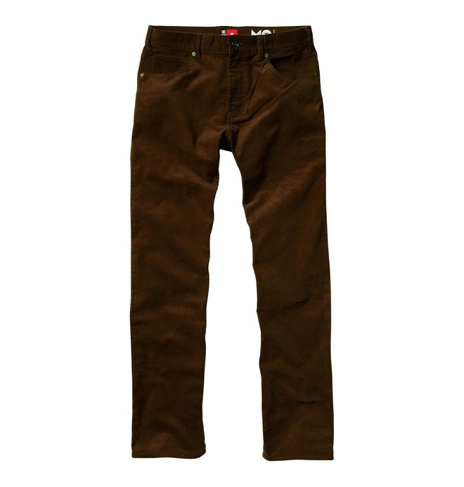 0 Men's Mike Mo Core Relaxed Corduroy Pants  51800114 DC Shoes