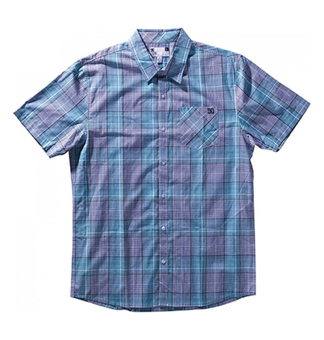 0 Men's Shipton Short Sleeve Shirt  51820053 DC Shoes