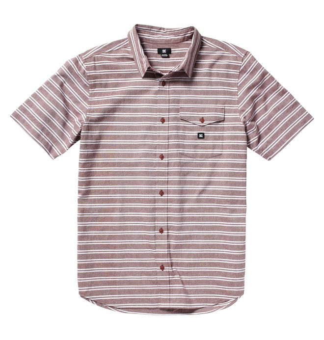 0 Men's Porthole Short Sleeve Shirt  51820082 DC Shoes