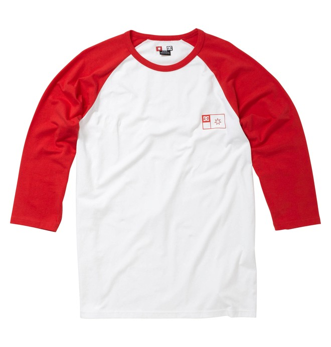 0 Men's Principle Raglan 3/4 Sleeve Tee  51830125 DC Shoes
