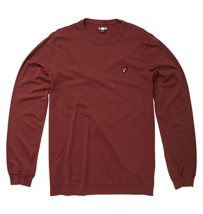 0 Men's Late Night Long Sleeve Crew  51830133 DC Shoes