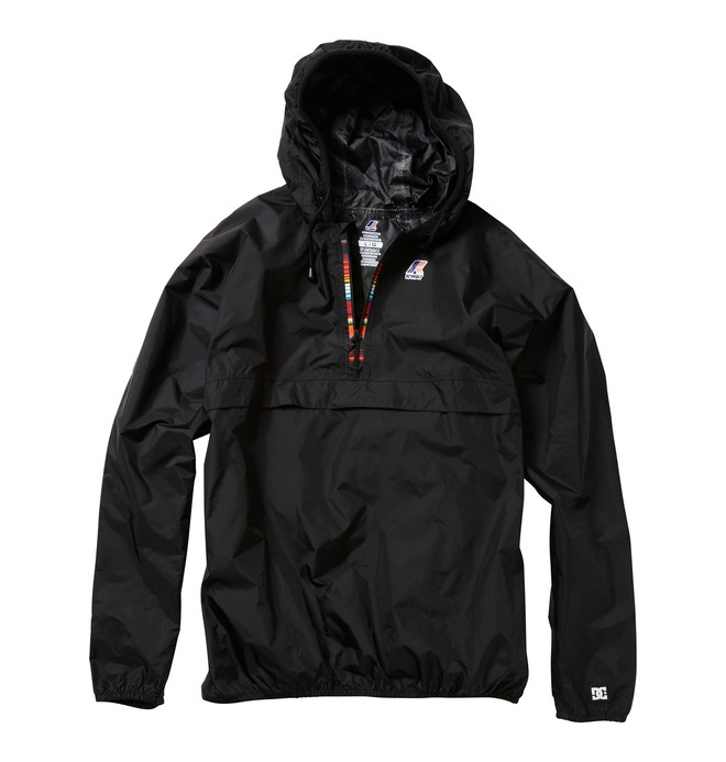 0 Men's K-Way X DC Collab Jacket  51840078 DC Shoes