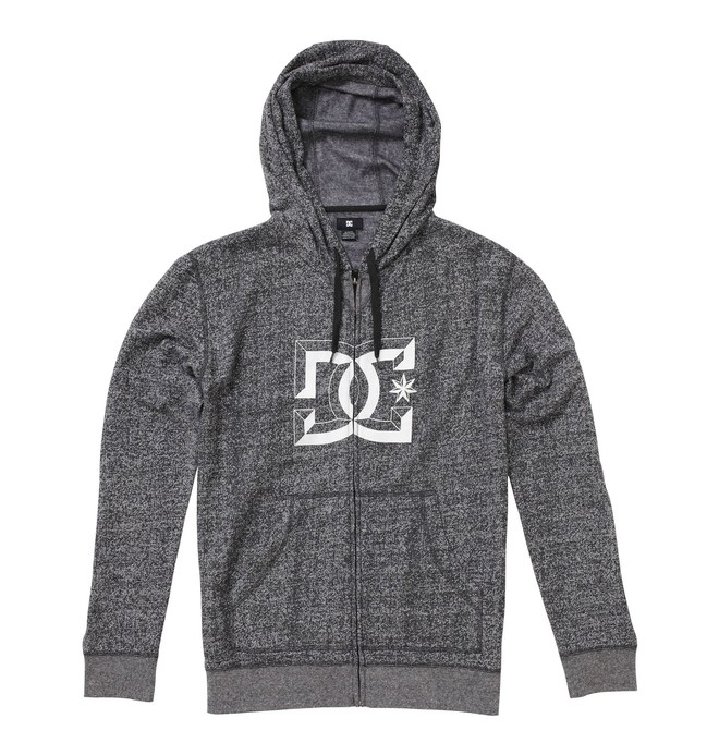 0 Men's D-Rebel Zip-Up Hoodie  51860092 DC Shoes