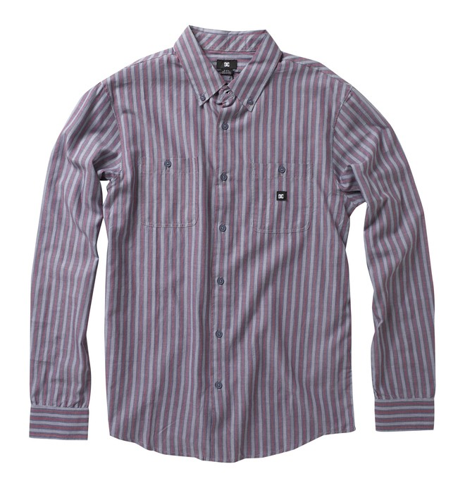 0 Men's Flacks Long Sleeve Shirt  52820012 DC Shoes