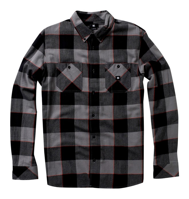 0 Men's Hamilton Long Sleeve Shirt  52820017 DC Shoes