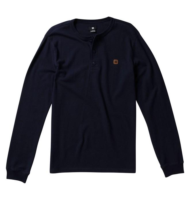 0 Men's Yield Thermal Henley Shirt  52830086 DC Shoes