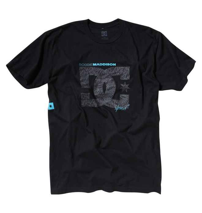 0 Men's Robbie Maddison Inspiration Tee  53200451 DC Shoes