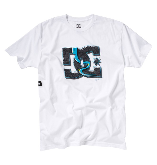 0 Men's Robbie Maddison Off Track Tee  53200453 DC Shoes