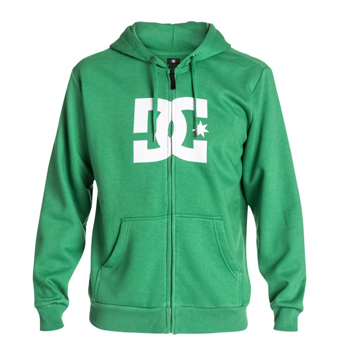 0 Men's Star ZH Hoodie Green 53260087 DC Shoes
