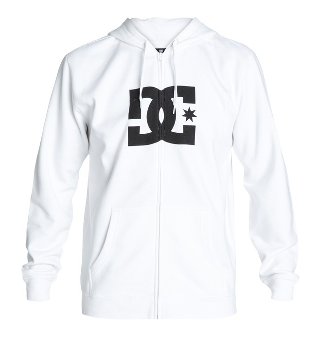 0 Men's Star ZH Hoodie White 53260087 DC Shoes