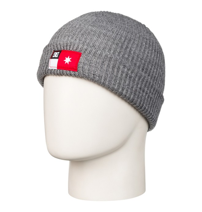 0 Men's Rickshaw Beanie Grey 53310064 DC Shoes