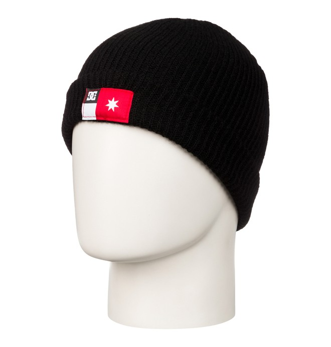 0 Men's Rickshaw Beanie Black 53310064 DC Shoes