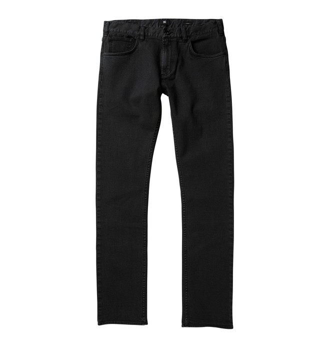 0 Men's DC Skinny Fit Jeans Black 53800129 DC Shoes