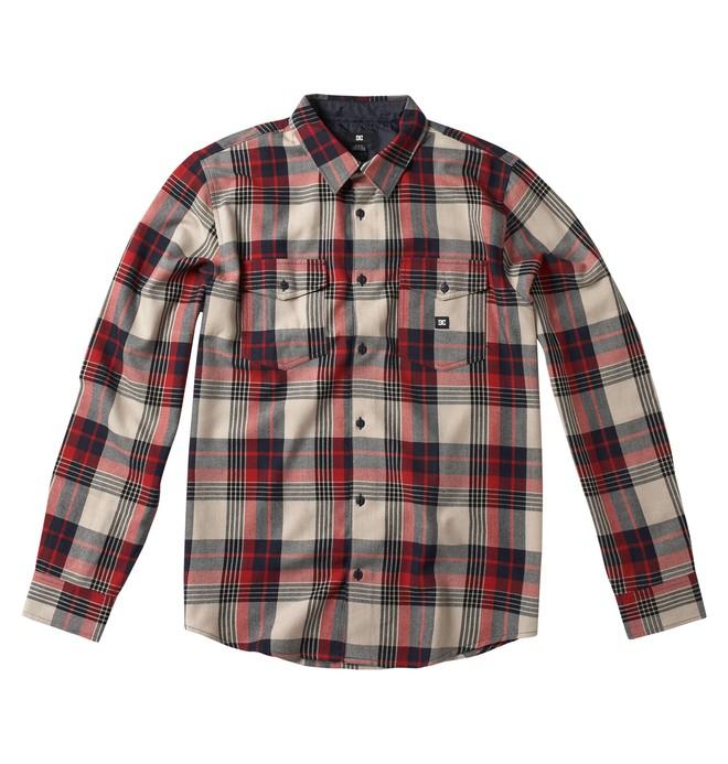 0 Men's Hackleman Long Sleeve Shirt  53820084 DC Shoes
