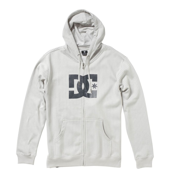 0 Men's T-Star Print Zip Hoodie  53860123 DC Shoes