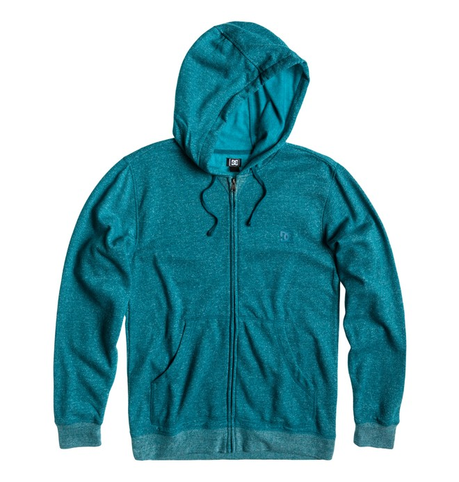0 Men's Rebel Zip Hoodie Blue 53860138 DC Shoes