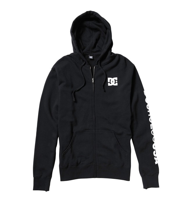 0 Men's Rob Dyrdek Chest Star Zip Hoodie  53860151 DC Shoes