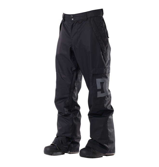 0 Men's Banshee Snowboard Pants Black 54601109 DC Shoes