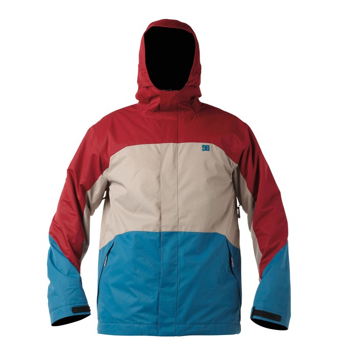0 Men's Amo Snowboard Jacket Red 54645135 DC Shoes