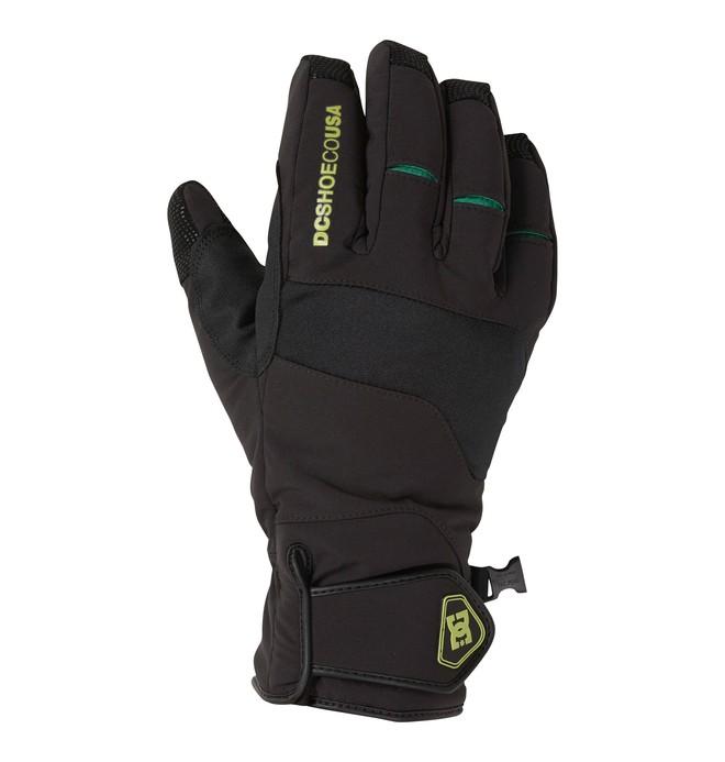0 Men's Mizu Snowboard Gloves Black 54671063 DC Shoes