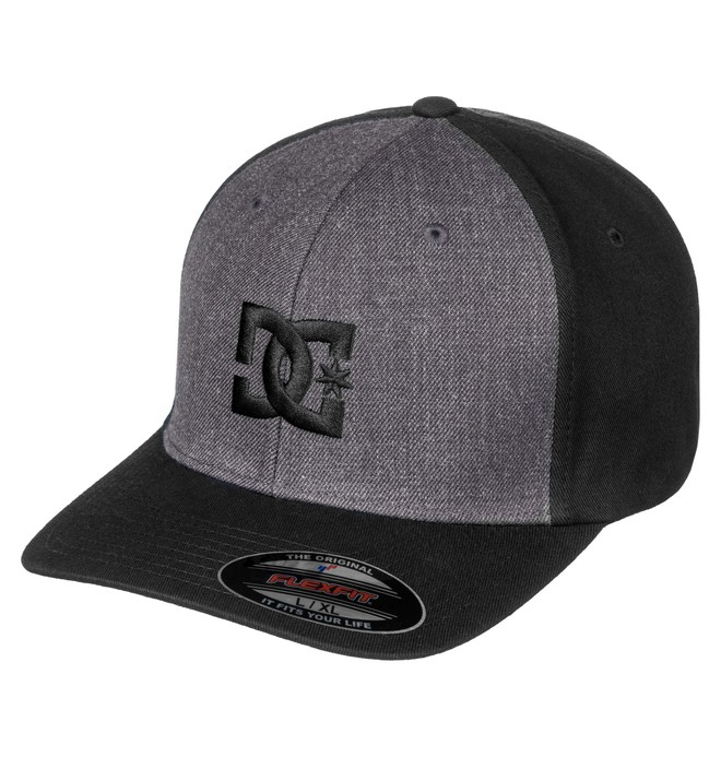 0 Men's Hat Star 2 Flexfit Hat Black 55300096 DC Shoes