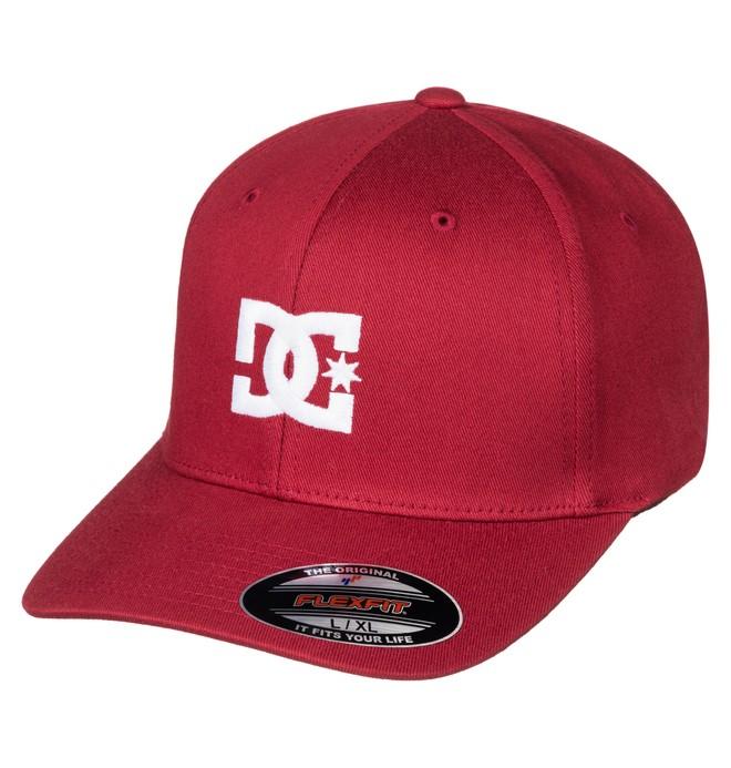 0 Men's Hat Star 2 Flexfit Hat Red 55300096 DC Shoes