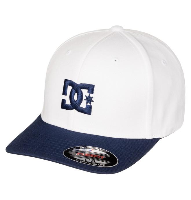0 Men's Hat Star 2 Flexfit Hat White 55300096 DC Shoes