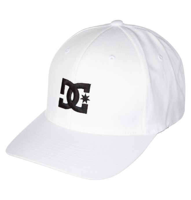 0 Men's Cap Star Hat White 55300096 DC Shoes