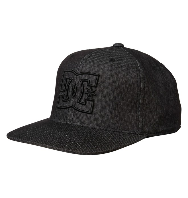 0 Men's Pinride Flexfit Hat  55300207 DC Shoes