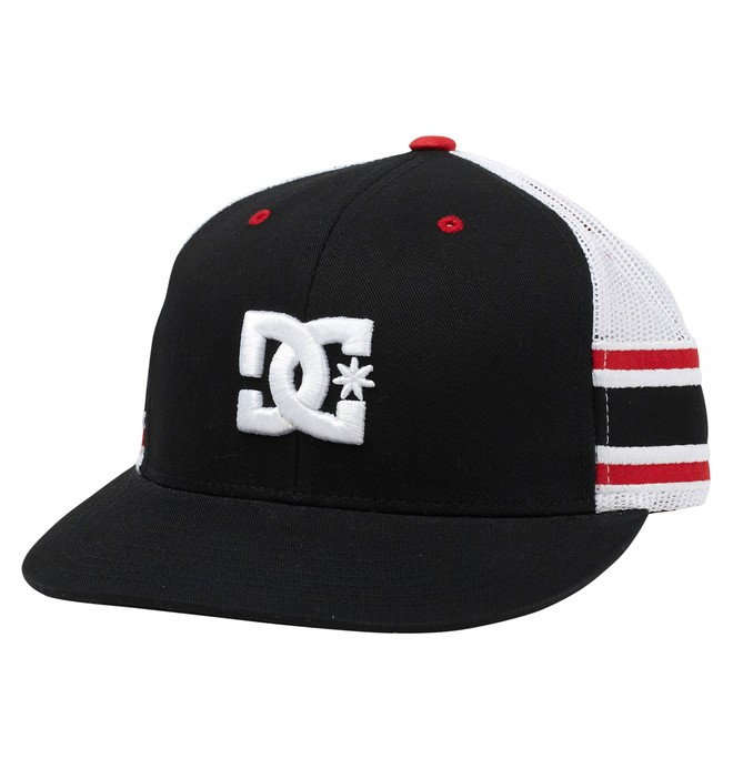 0 Men's Rob Dyrdek Alumni Stripe Trucker Hat  55300226 DC Shoes